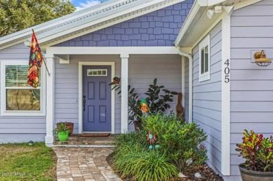 405 2ND St, St Augustine, FL 32084 - #: 1031141