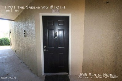 Jacksonville Beach, FL home for sale located at 1701 The Greens Way UNIT 1014, Jacksonville Beach, FL 32250