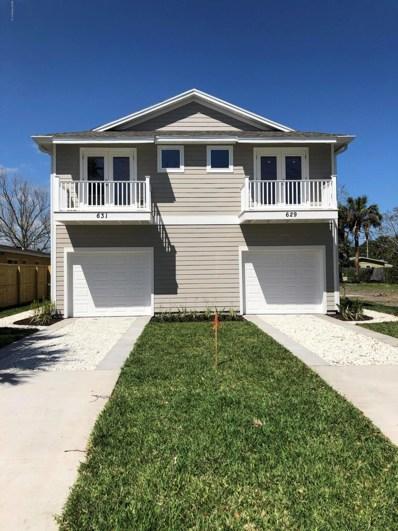 631 4TH Ave S, Jacksonville Beach, FL 32250 - #: 1033903
