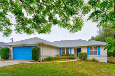 430 Gentian Rd, St Augustine, FL 32086 - #: 1057168