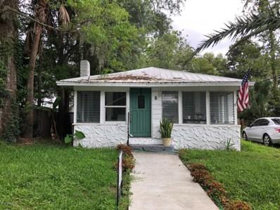 6 Mc Williams St, St Augustine, FL 32084 - #: 1058861
