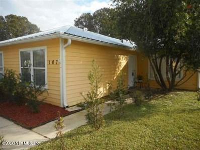 107 Plantation Point Dr, St Augustine, FL 32084 - #: 1084280