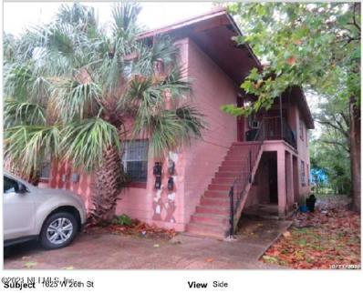 1625 W 26TH St, Jacksonville, FL 32209 - #: 1090801