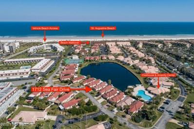 1712 Sea Fair Dr, St Augustine, FL 32080 - #: 1097006