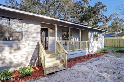 St Augustine, FL home for sale located at 591 Julia St, St Augustine, FL 32084