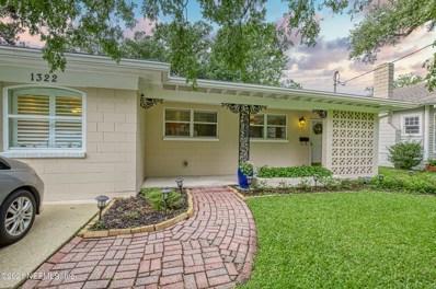 1322 Wolfe St, Jacksonville, FL 32205 - #: 1105507