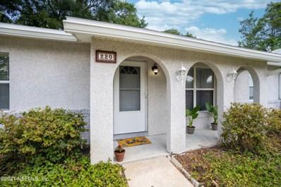 220 Shores Blvd, St Augustine, FL 32086 - #: 1112671