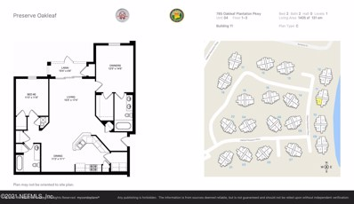 785 Oakleaf Plantation Pkwy UNIT 1114, Orange Park, FL 32065 - #: 1122352
