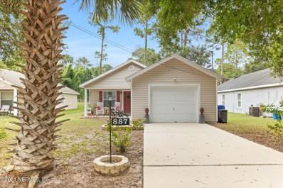 887 Ervin St, St Augustine, FL 32084 - #: 1136361