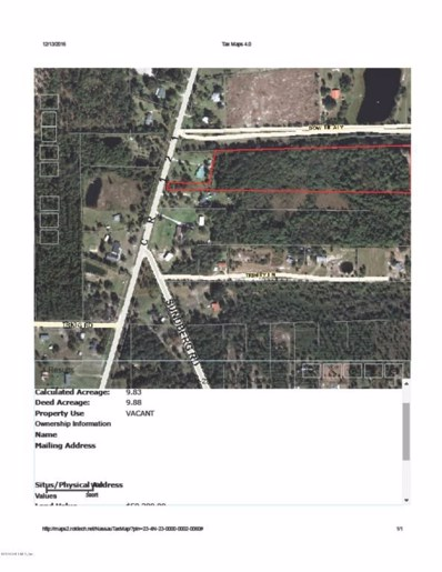 241867 Cr 121, Hilliard, FL 32046 - #: 858991