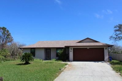 41 Kon Tiki Cir, St Augustine, FL 32080 - #: 905070