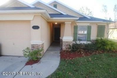 117 Brays Island Ln, St Augustine, FL 32092 - #: 913415