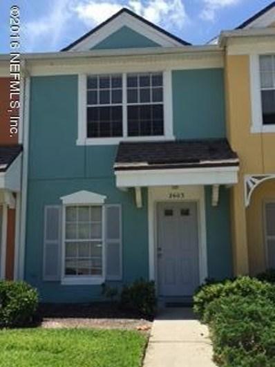 12311 Kensington Lakes Dr UNIT 2603, Jacksonville, FL 32246 - #: 914750