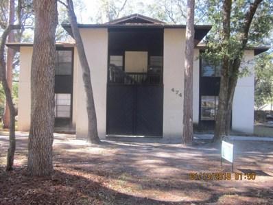474 Lombard St UNIT B, Orange Park, FL 32073 - #: 916469