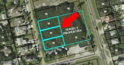 Lot 16-18 1ST Street, St Augustine, FL 32080 - #: 926136
