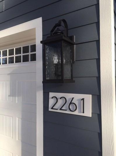 2261 Remington Park Rd, St Johns, FL 32259 - MLS#: 931942