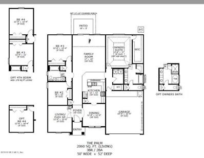 Yulee, FL home for sale located at 96405 Granite Trl, Yulee, FL 32097