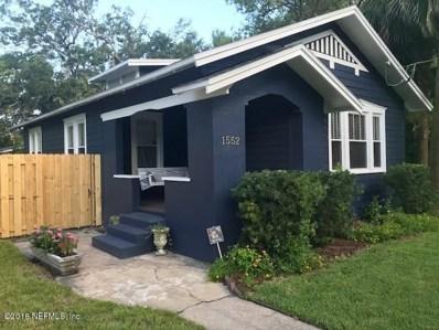 1552 Flagler Ave, Jacksonville, FL 32207 - MLS#: 945912
