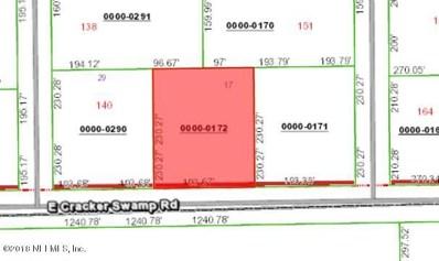 East Palatka, FL home for sale located at 154 E Cracker Swamp Rd, East Palatka, FL 32131