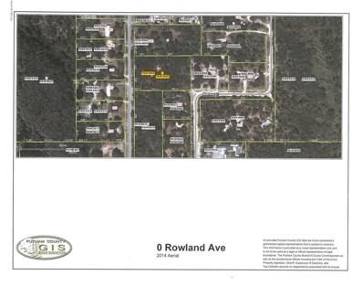 Rowland Ave., Palatka, FL 32177 - MLS#: 953401