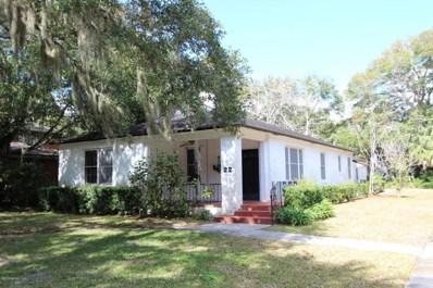 22 Nelmar Ave, St Augustine, FL 32084 - #: 953448