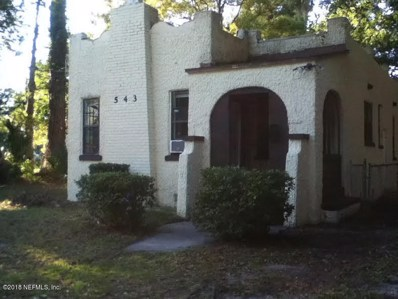 543 W 26TH St, Jacksonville, FL 32206 - #: 955082
