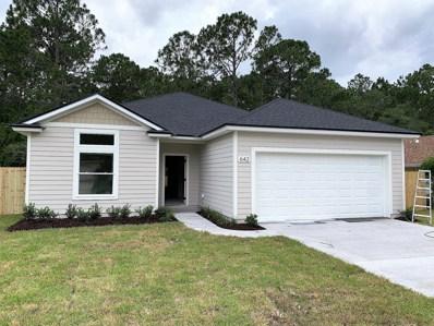 642 Aleida Dr, St Augustine, FL 32086 - #: 962286