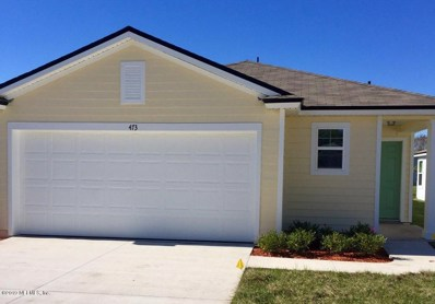 St Augustine, FL home for sale located at 473 Ashby Landing Way, St Augustine, FL 32086