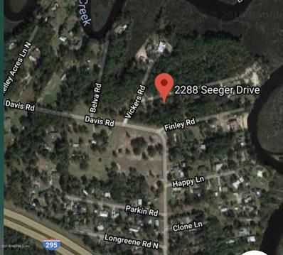 2288 Seeger Dr, Jacksonville, FL 32218 - #: 963585