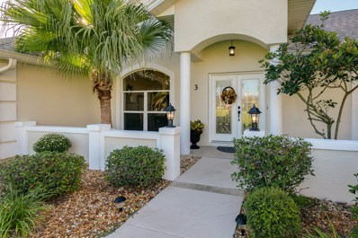 3 Collingville Ct, Palm Coast, FL 32137 - #: 965102