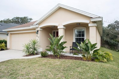 St Augustine, FL home for sale located at 217 Mystic Castle Dr, St Augustine, FL 32086