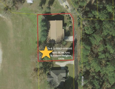Keystone Heights, FL home for sale located at 4602 SE 1ST Ave, Keystone Heights, FL 32656