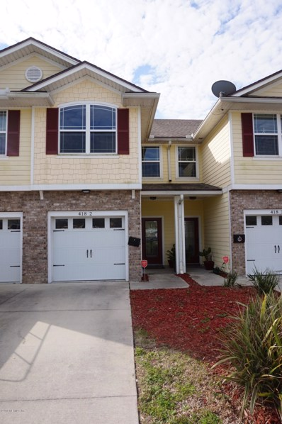 Jacksonville Beach, FL home for sale located at 418 7TH Ave N UNIT 2, Jacksonville Beach, FL 32250