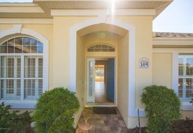 305 San Nicolas Way, St Augustine, FL 32080 - MLS#: 989137