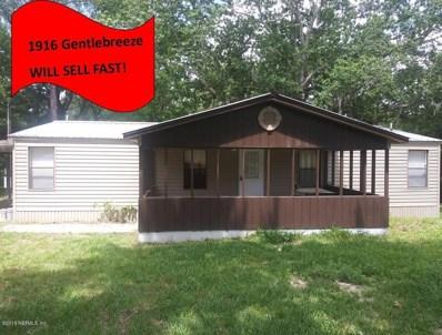 1916 Gentle Breeze Rd, Middleburg, FL 32068 - #: 995099
