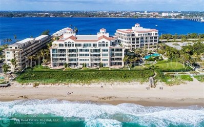 3000 S Ocean Bl UNIT 304, Palm Beach, FL 33480 - MLS#: F10095181