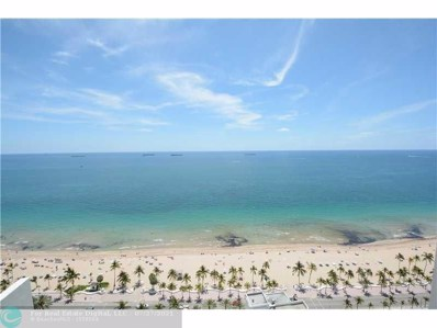 101 S Ft Laud Bch Blvd UNIT 2803, Fort Lauderdale, FL 33316 - MLS#: F10097800