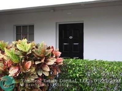 2900 N Course Dr UNIT 104, Pompano Beach, FL 33069 - MLS#: F10130124