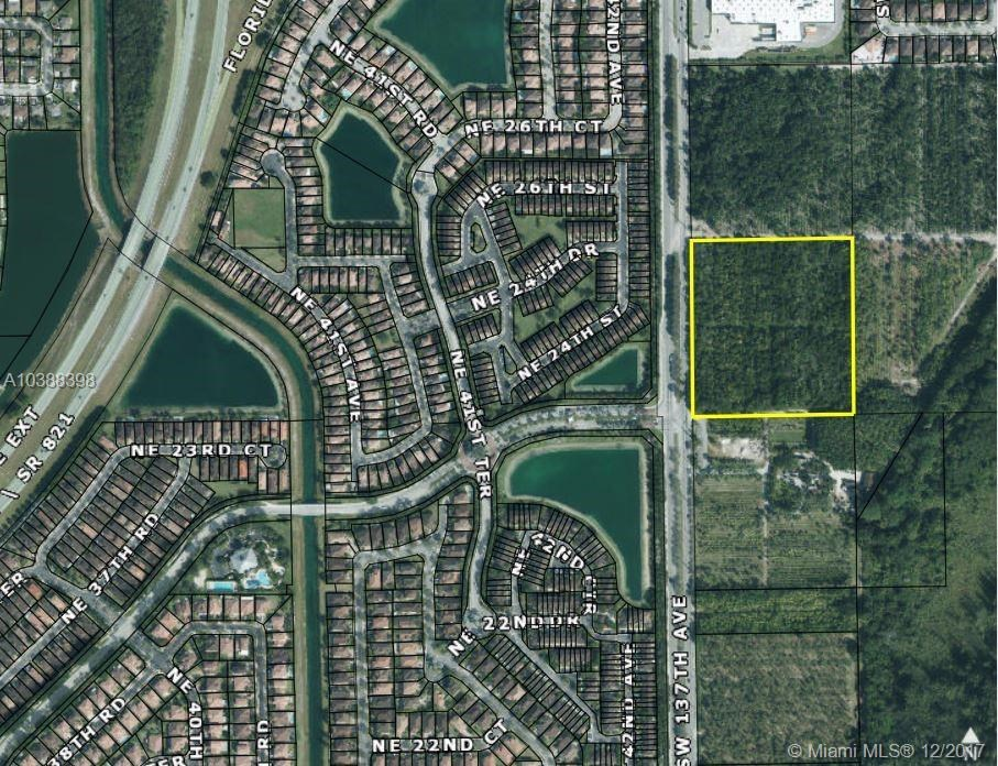 SW 288 St.(APPROX) & SW 137 AVE, Homestead, FL 33033