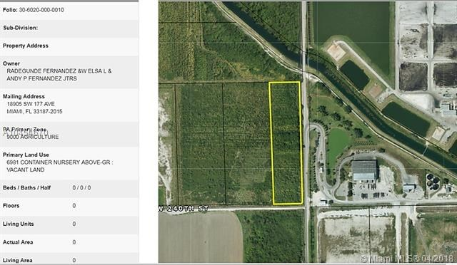 97 Ave SW 240 St, Homestead, FL 33032