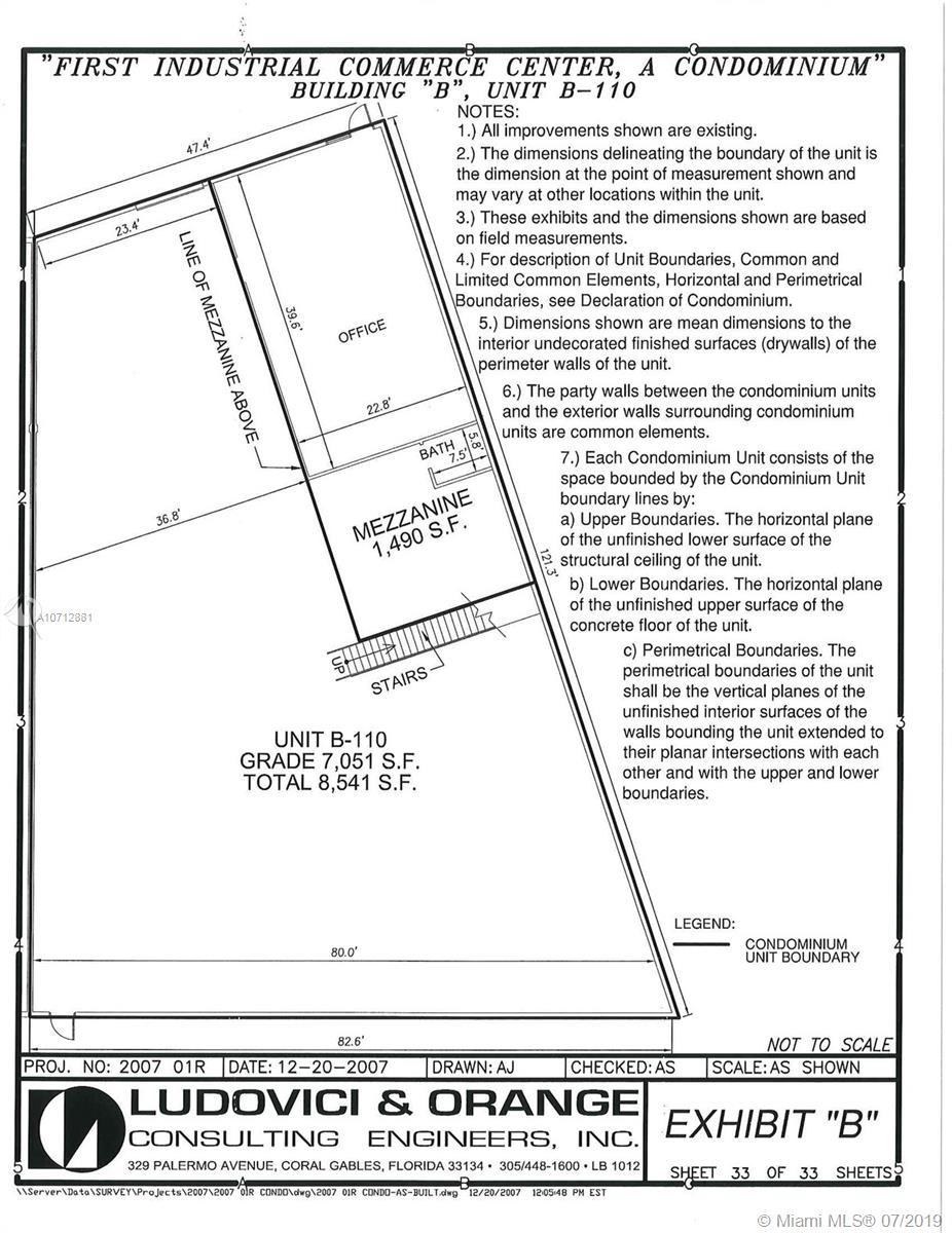 12605 NW 115th Ave   B-110, Medley, FL 33178