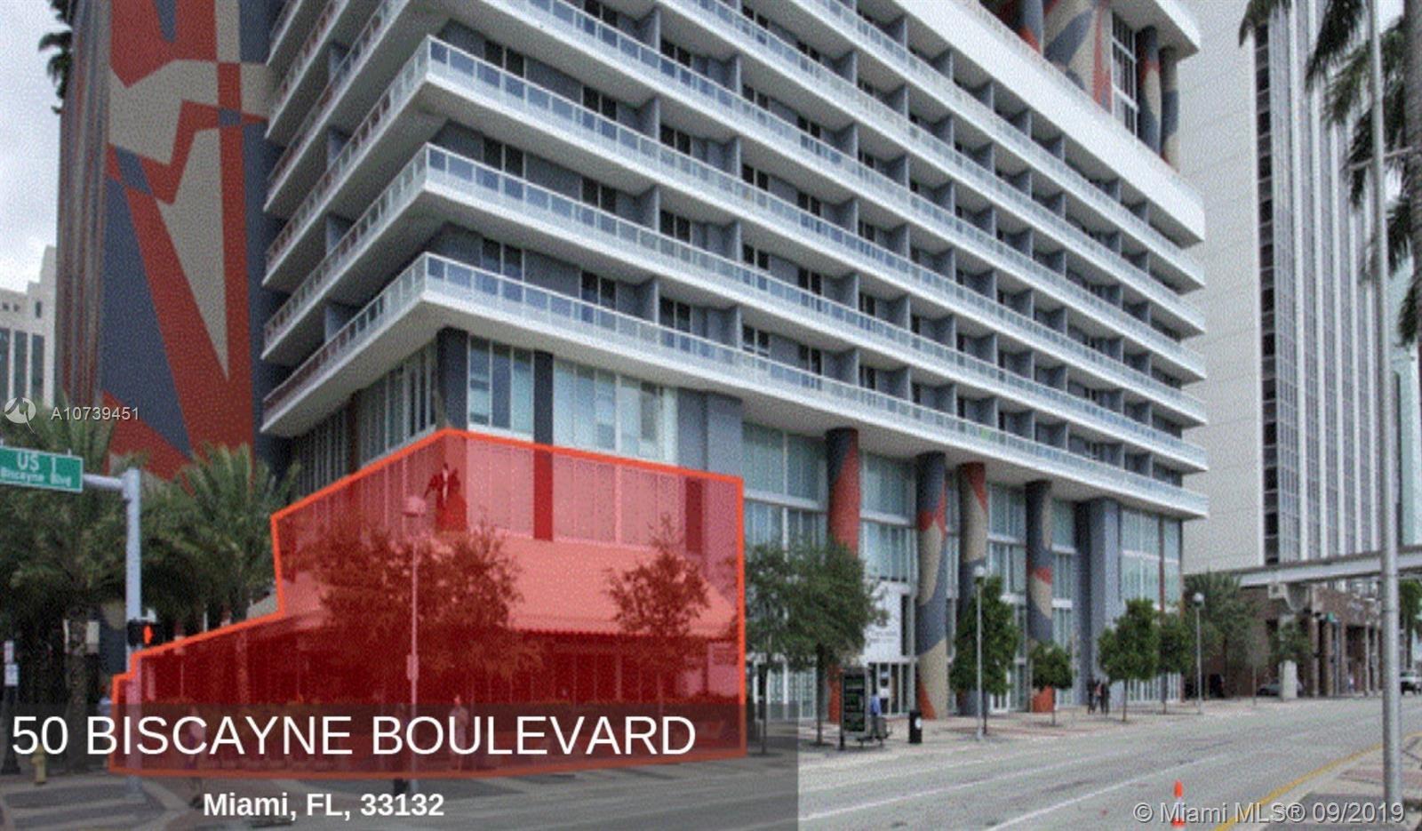 50  Biscayne Blvd   CU1, Miami, FL 33132