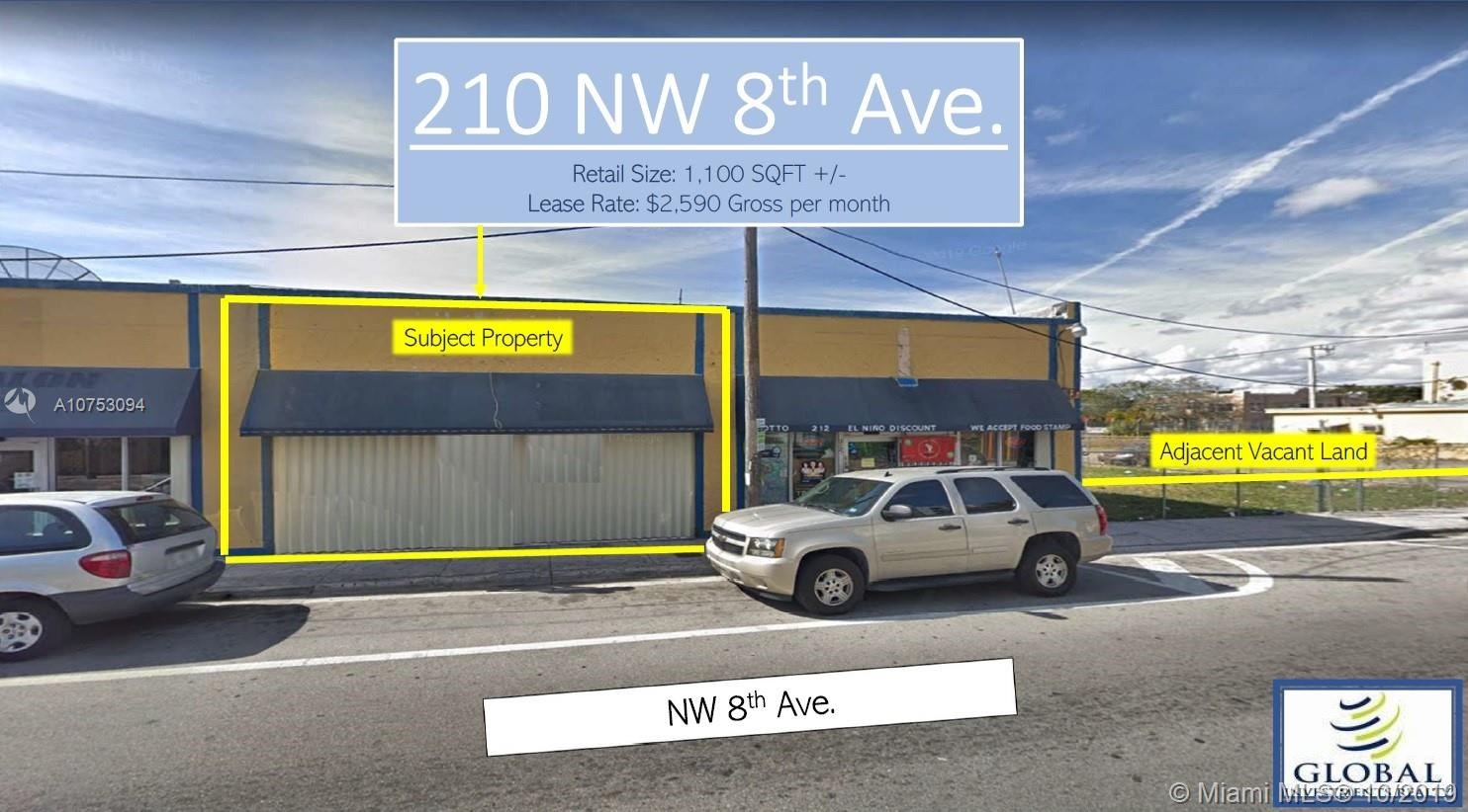 200 NW 8th Ave   210, Miami, FL 33128