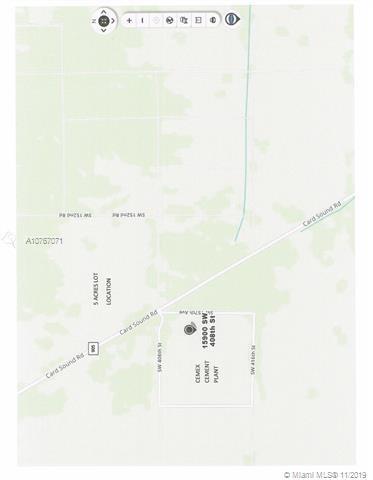 404XX SW 157 AV., Homestead, FL 33035
