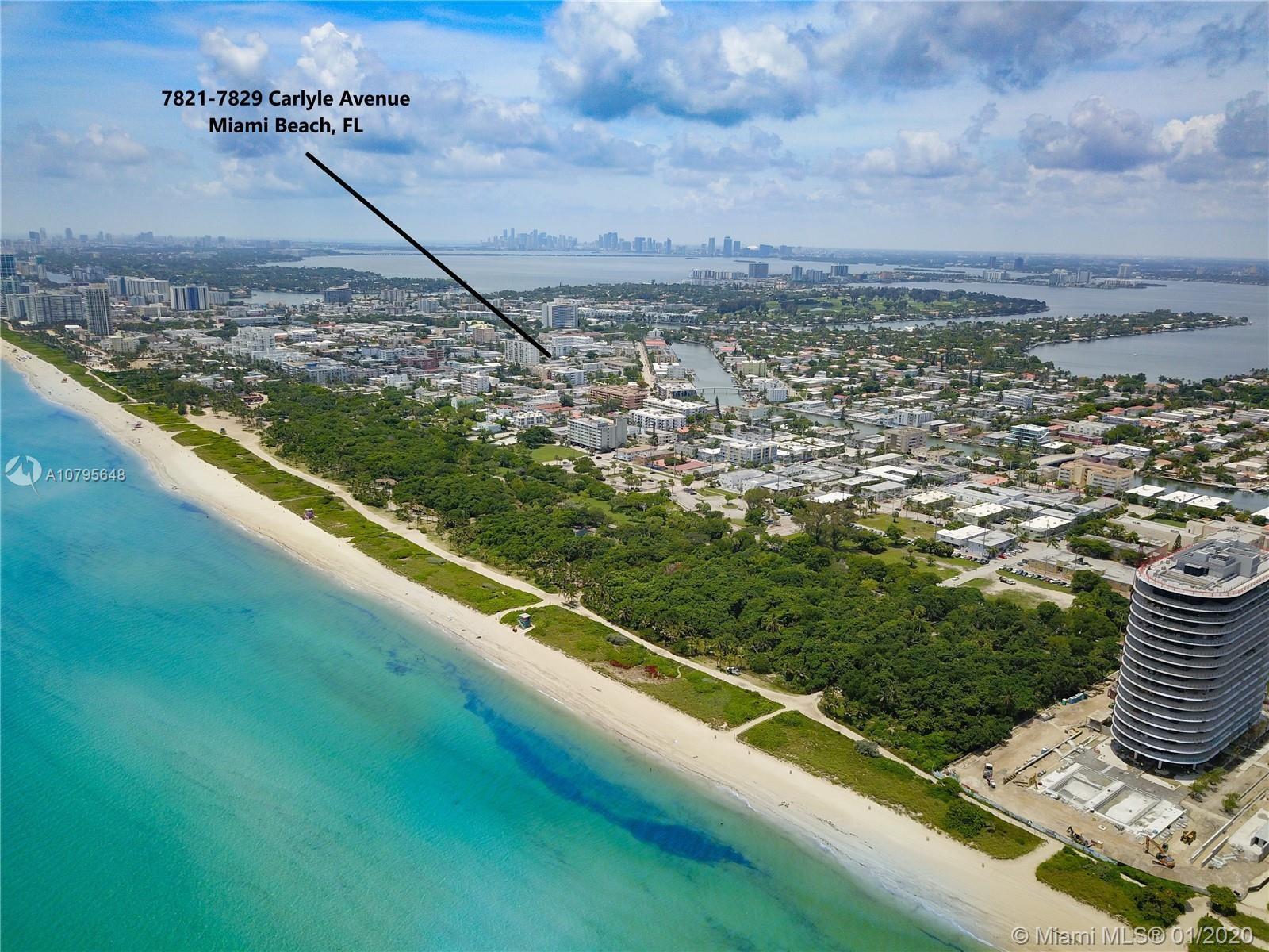 7821-7829  Carlyle, Miami Beach, FL 33141