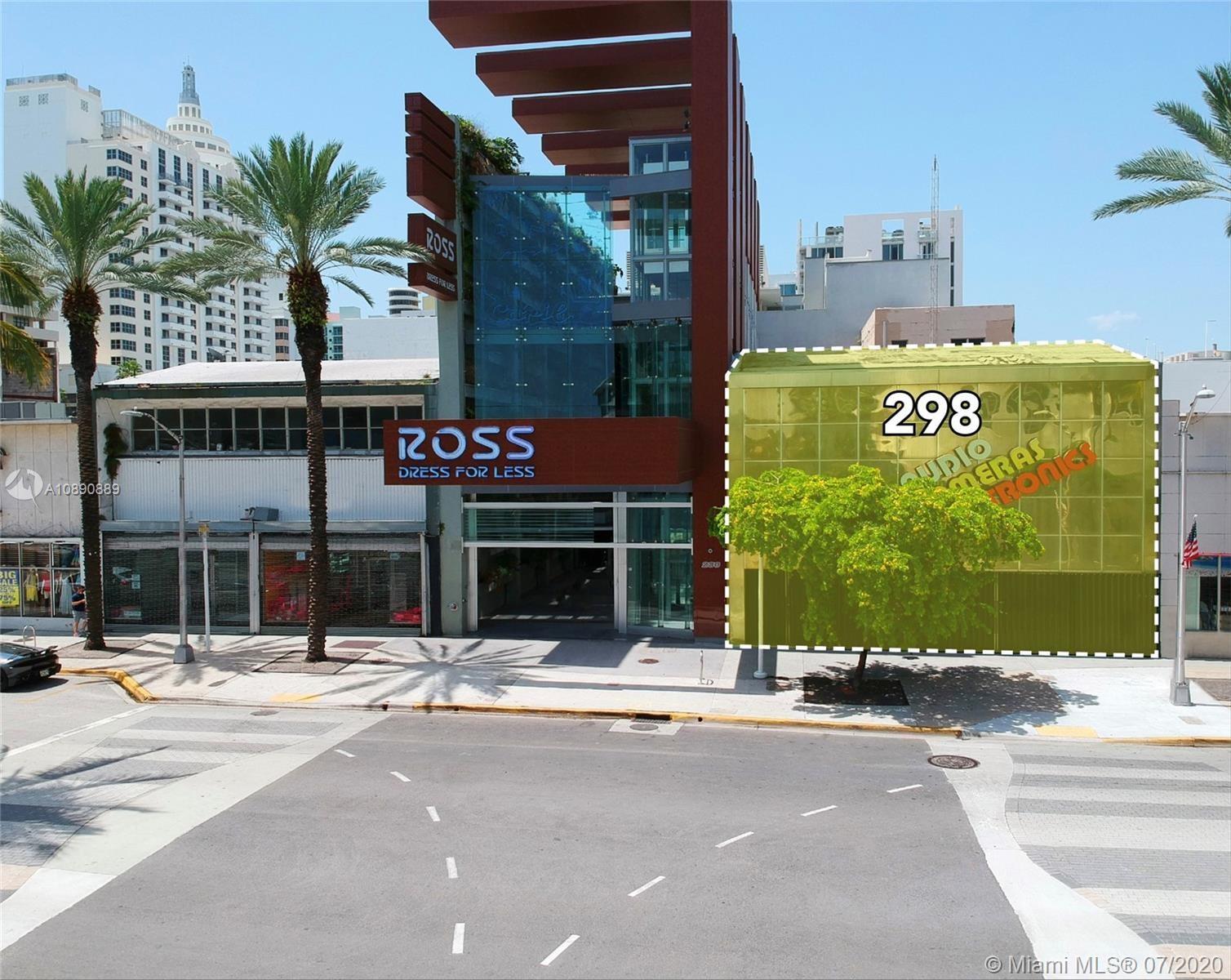 298  Lincoln Rd, Miami Beach, FL 33139