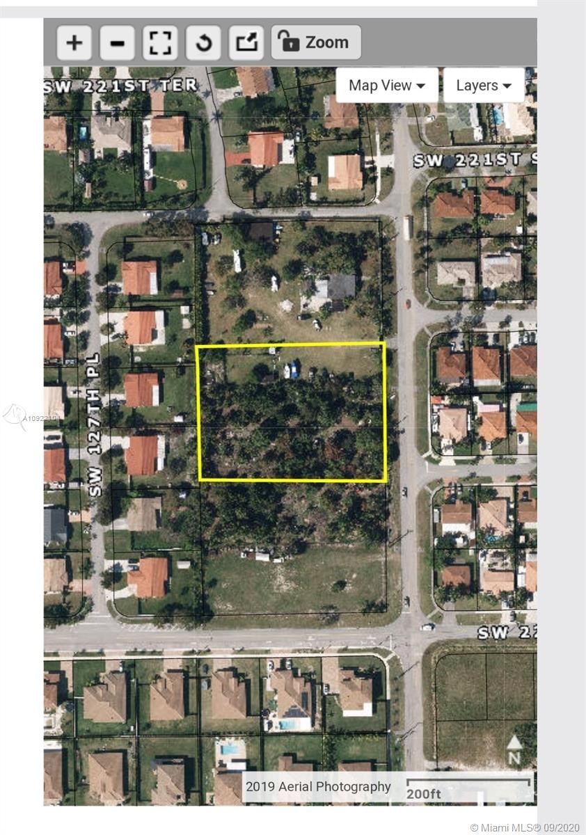 SW 223rd ST  SW 127th Ave, Unincorporated Dade County, FL 33170