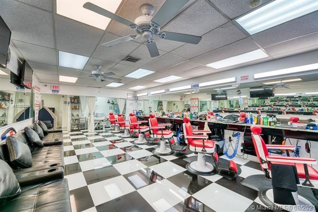Barber Shop & Beauty  Salon On West Flagler For Sale, Coral Gables, FL 33134