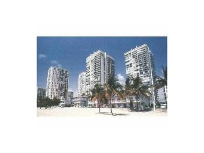 2301 S Ocean Dr UNIT 807, Hollywood, FL 33019 - MLS#: A10001540