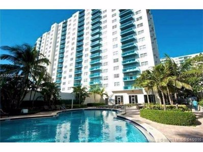 4001 S Ocean Dr UNIT 6J, Hollywood, FL 33019 - MLS#: A10052631